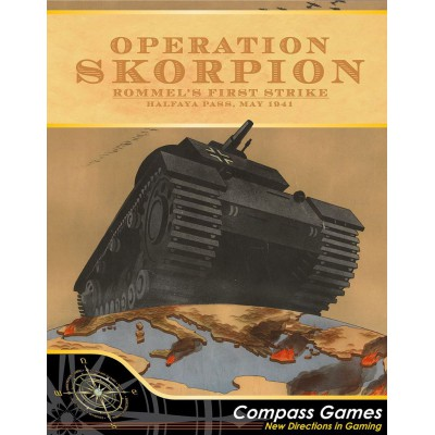 Operation Skorpion. Rommel's first strike.