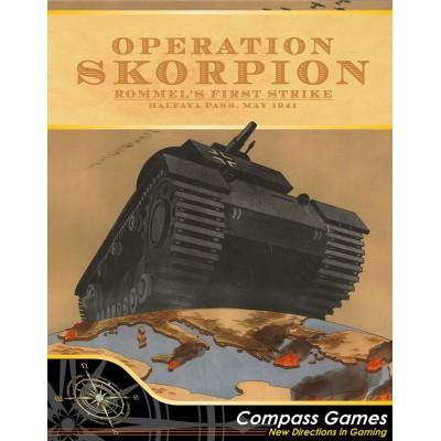 Operation Skorpion. Rommel's first strike.