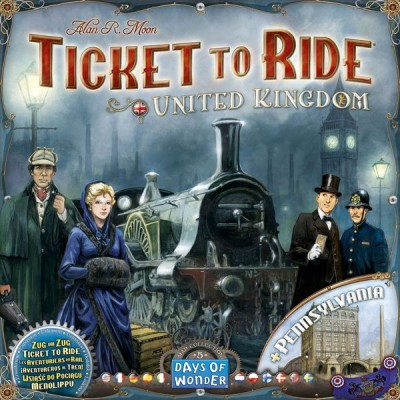 Ticket to Ride: United Kingdom and Pennsylvania