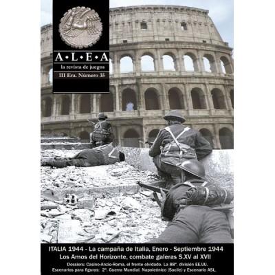 Alea nº 35: Italia44 + Los Amos del Horizonte