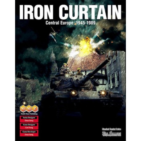 Iron Curtain: Central Europe, 1945-1989