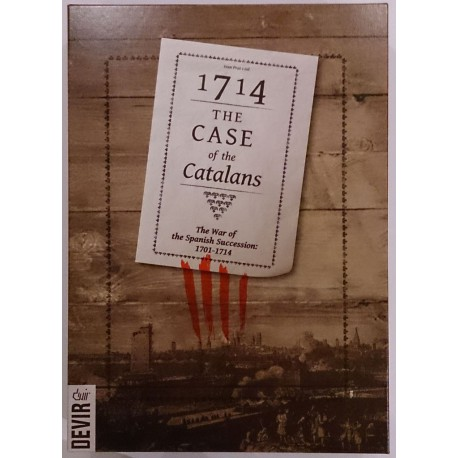 1714 The Case of the Catalans - Box Cover