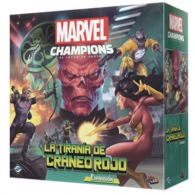Marvel Champions: The Card Game – The Rise of Red Skull