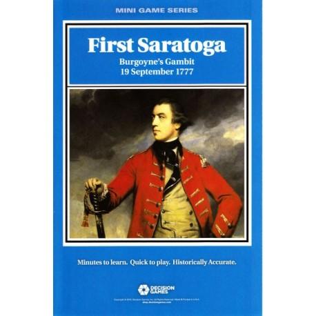 First Saratoga: Burgoyne's Gambit