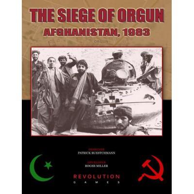 The Siege of Orgun. Afghanistan, 1983