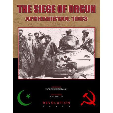 The Siege of Orgun. Afghanistan, 1983