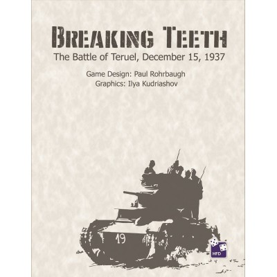 Breaking Teeth: The Battle of Teruel, December, 1937