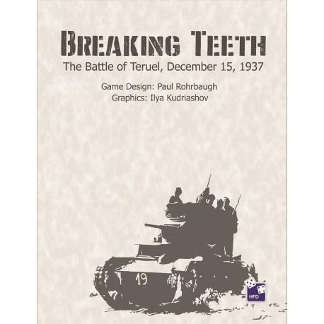 Breaking Teeth: The Battle of Teruel, December, 1937