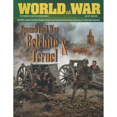 World at War Nº62: Spanish Civil War Battles: Teruel & Belchite
