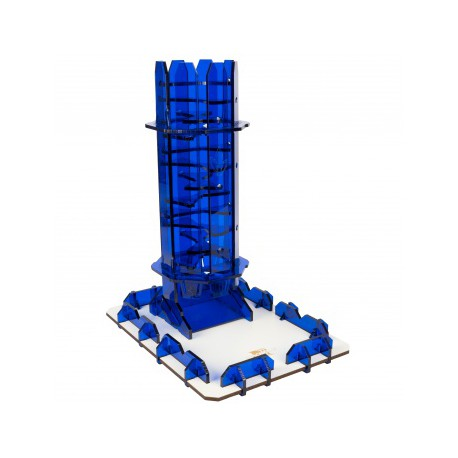 Blackfire Dice Tower - Sapphire Twister