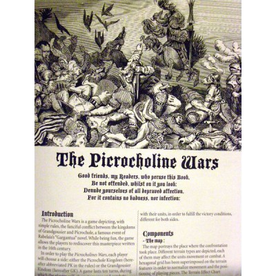 The Picrocholine Wars