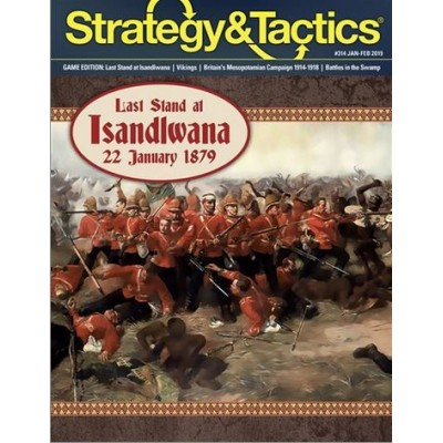 Strategy&Tactics Nº 314: Last Stand at Isandlwana, 22 January 1879