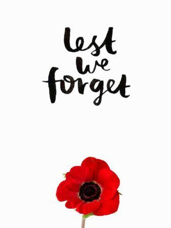 1918-2018 - Lest We Forget